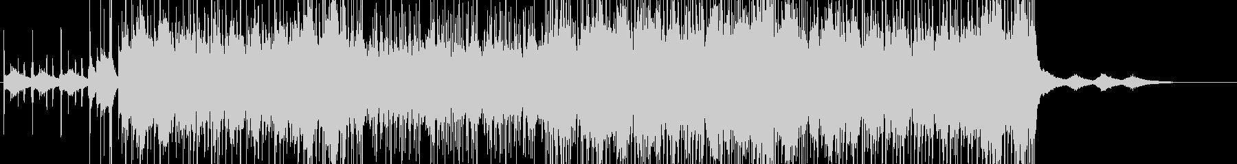 ドラム激しめのホラー系BGM の未再生の波形