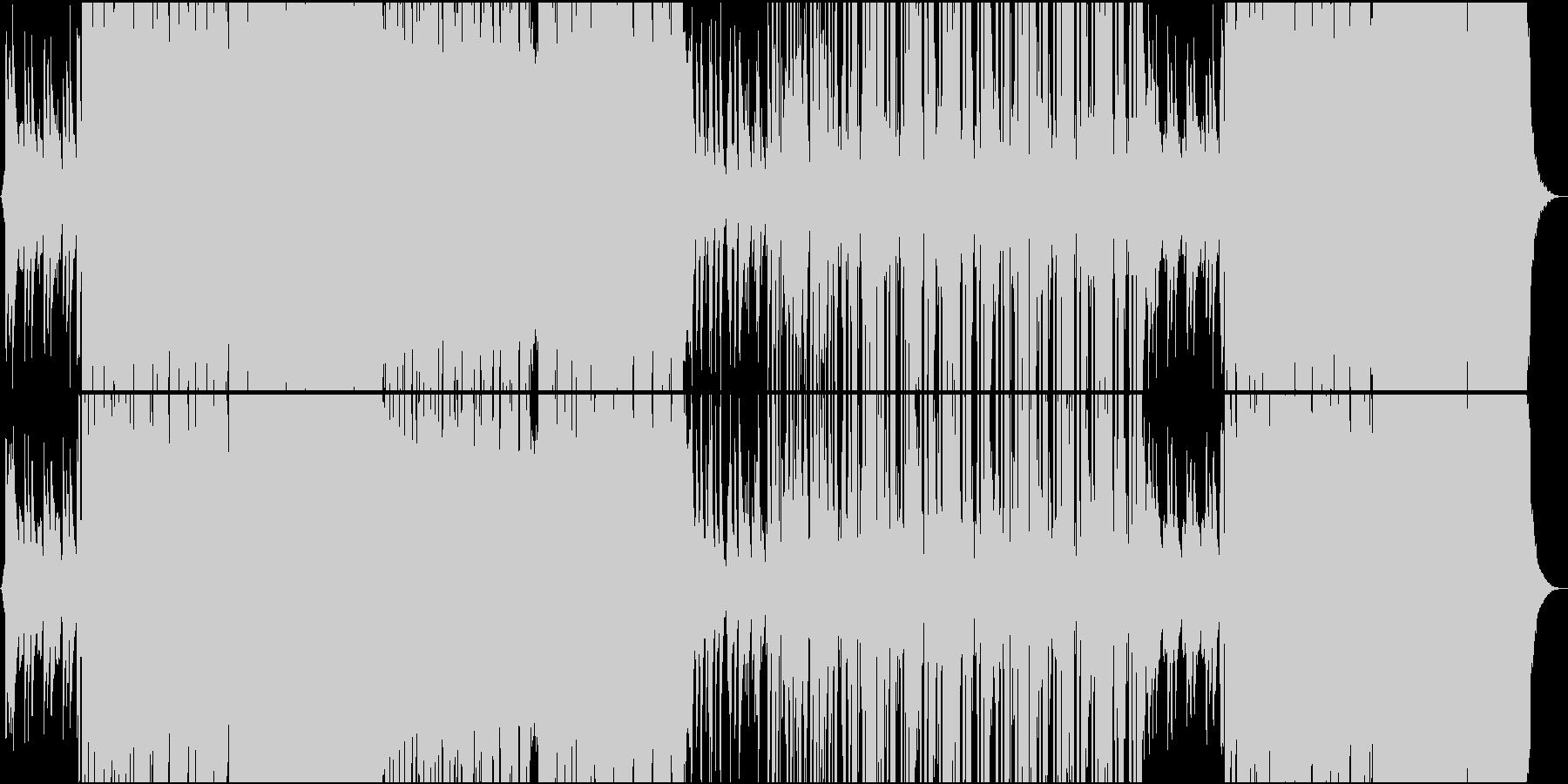 ストリングスが心地良いR&B系Chillの未再生の波形