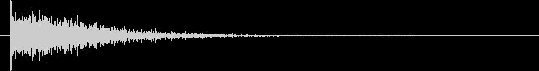映画告知音5 ドーンの未再生の波形