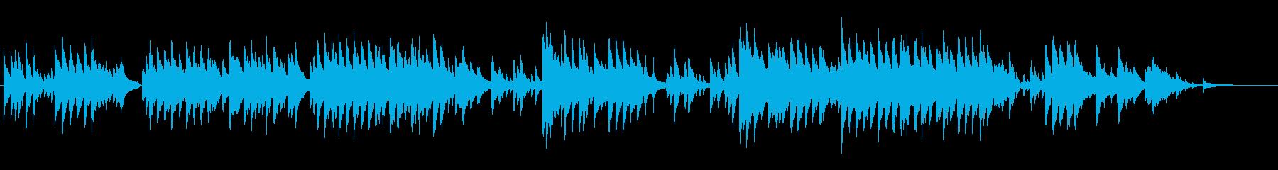 童謡「赤とんぼ」のジャズバラードアレンジの再生済みの波形