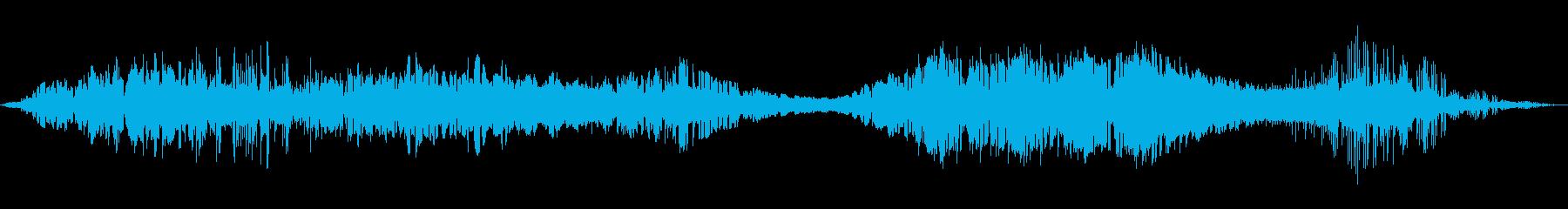 遅延バブル巻き上げ波形、通信宇宙遠隔測定の再生済みの波形