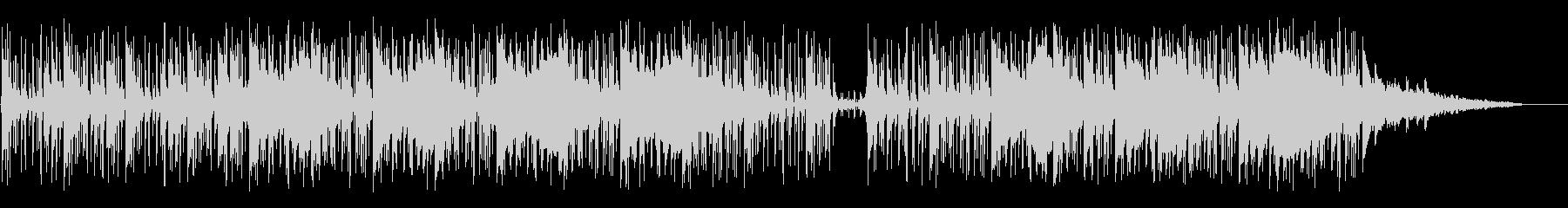 ソフトなピアノとホーンの未再生の波形