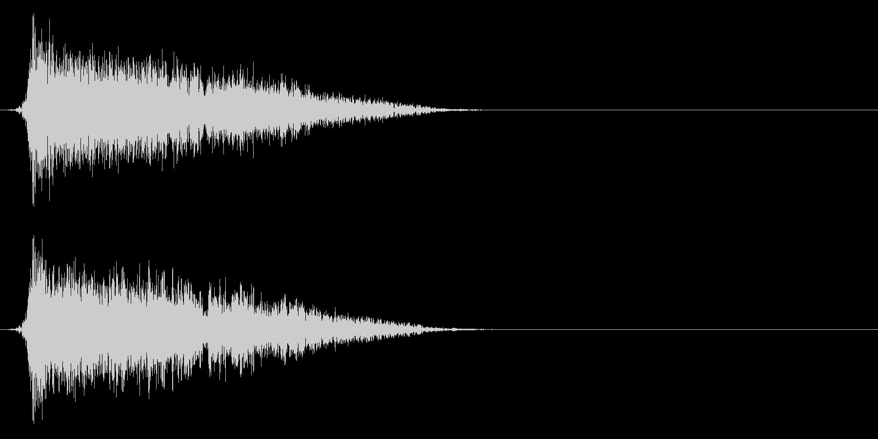 コミカルなダッシュ!ジャンプの効果音5bの未再生の波形