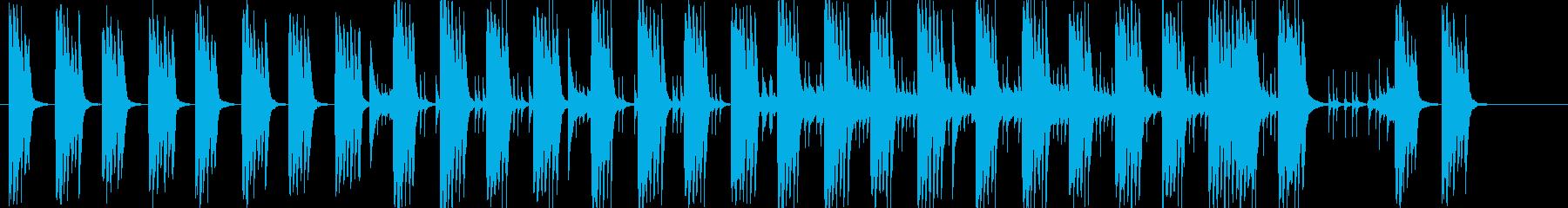 思案/思考や推理中用BGMの再生済みの波形