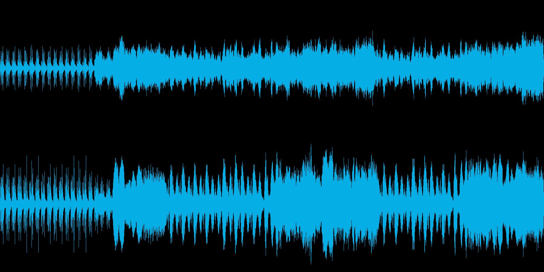 映像 ナレーション RPG 上品 ループの再生済みの波形