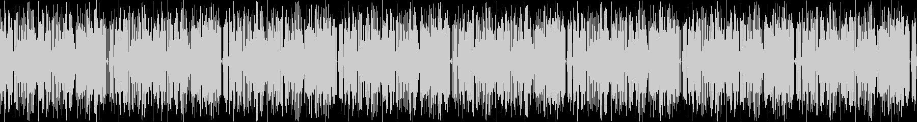 カフェをイメージした8bit系ジャズの未再生の波形