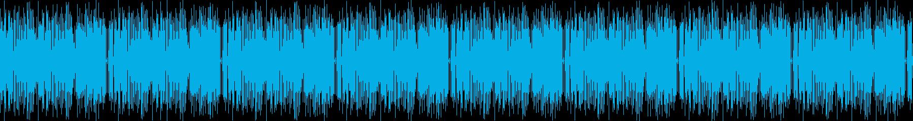 カフェをイメージした8bit系ジャズの再生済みの波形