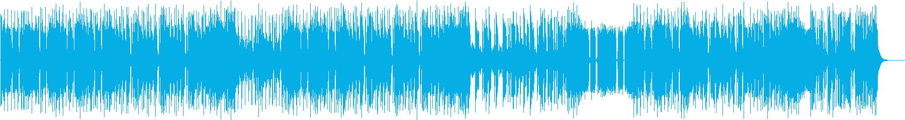 バッドさが全開のヘヴィメタル系BGM2の再生済みの波形