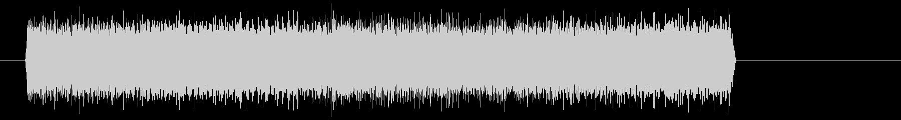 シュー(噴射音) 02の未再生の波形