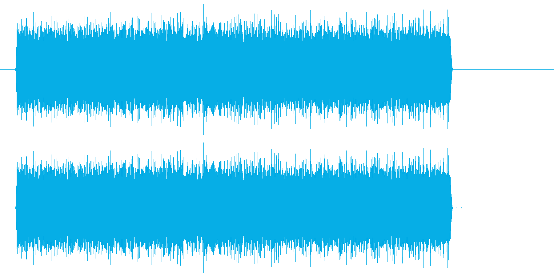シュー(噴射音) 02の再生済みの波形