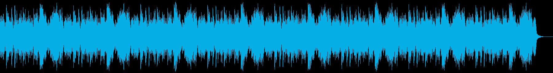 哀愁漂う悲しげなピアノBGMの再生済みの波形