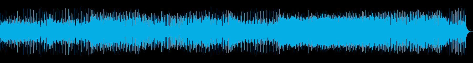 おしゃれで切ないEDMの再生済みの波形
