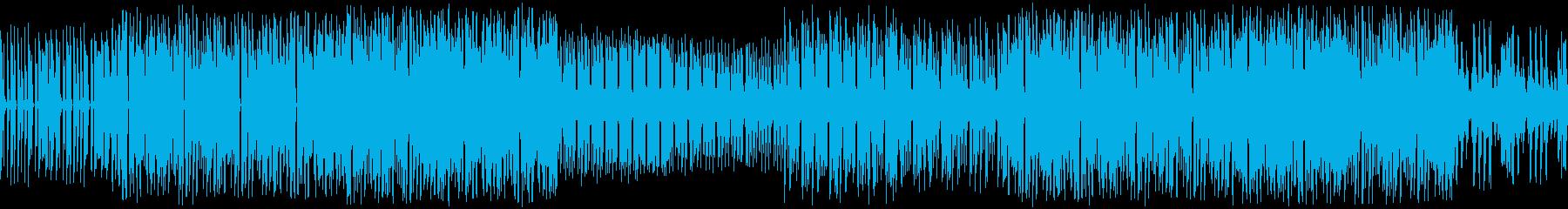 テレビゲーム パーカッション シン...の再生済みの波形