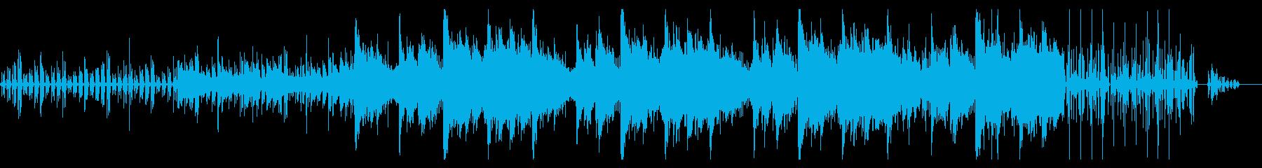 ローファイなリキッドトラップの再生済みの波形