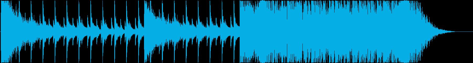 <金属音→打楽器>★予告編/トレーラーの再生済みの波形