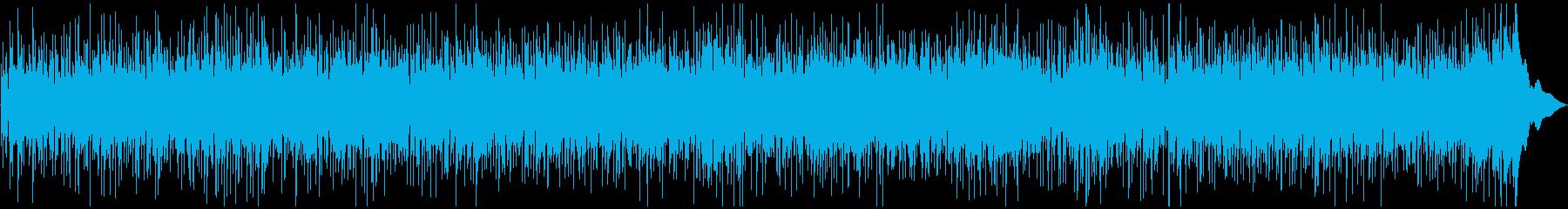 陽気で軽快なカントリー風BGMの再生済みの波形