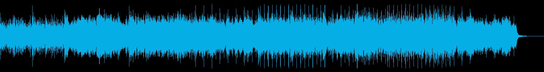こすれるノイジーなアンビエントテクスチャの再生済みの波形
