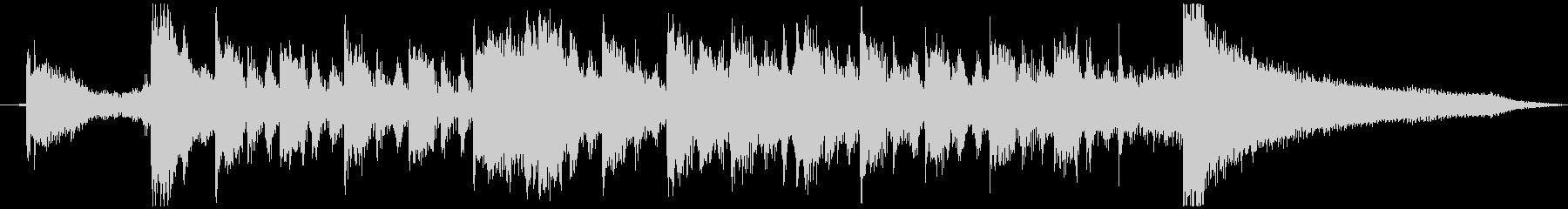 琴 ジングル アタック 和 インバウンドの未再生の波形