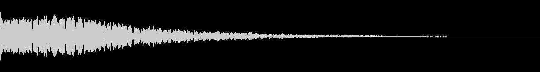 ビヨーン!(失敗、ボケ、オチ、コミカル)の未再生の波形