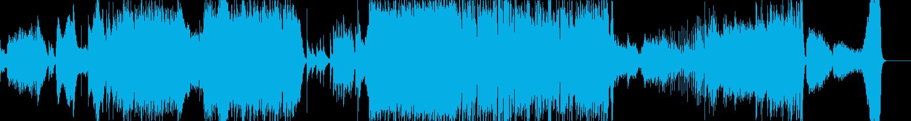 オーケストラと和楽器 尺八 武士道の再生済みの波形
