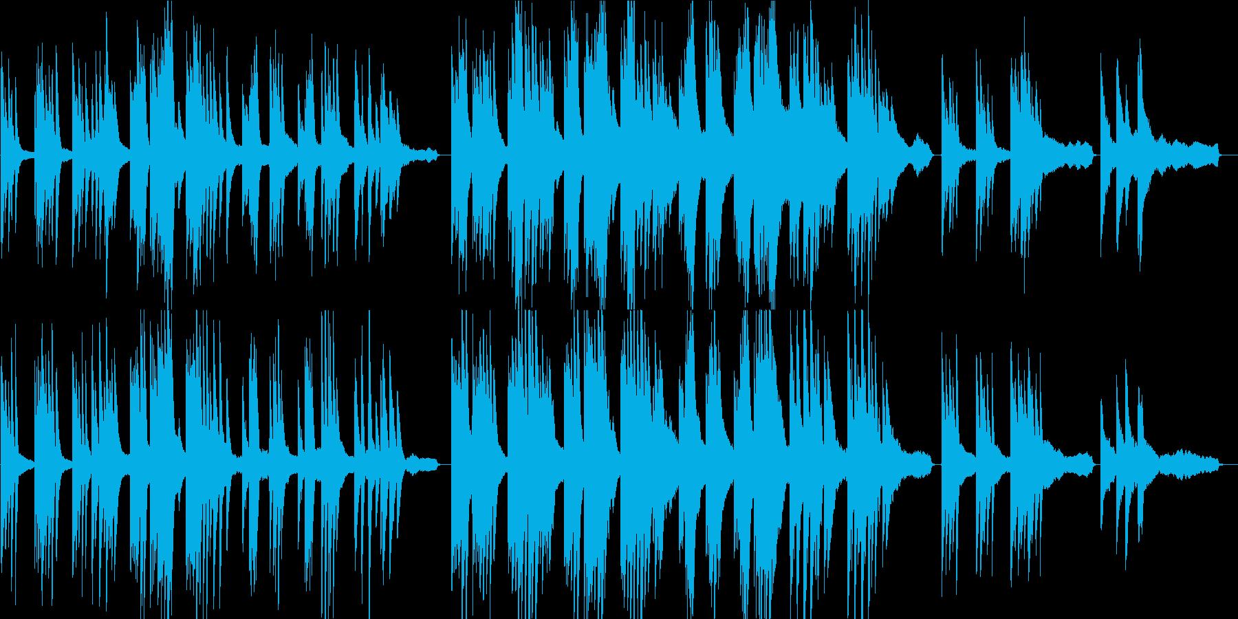 企業VP6 16bit44kHzVerの再生済みの波形