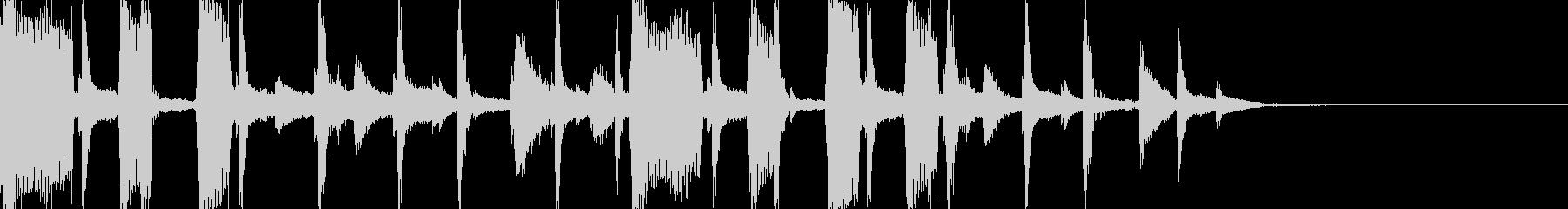 シックでエモいR&Bジングル/BGMの未再生の波形