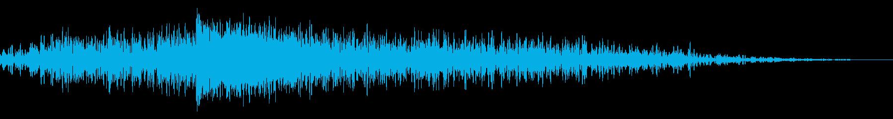 ビッグフェイズドインパクトスイープ...の再生済みの波形