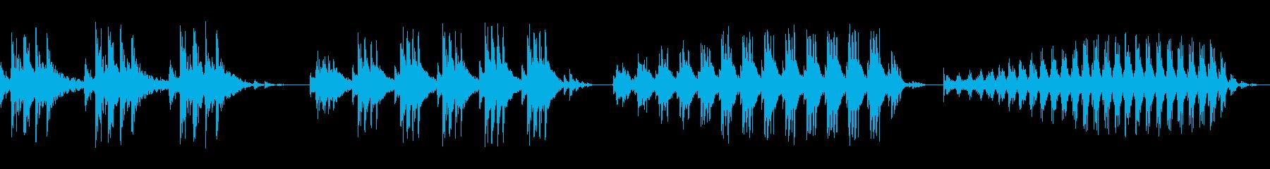 パルス、ロー、ダーク、スイープ、ム...の再生済みの波形