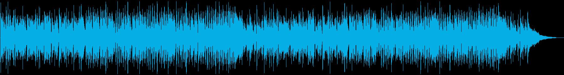 爽やかで軽快な日常用BGM_ロングの再生済みの波形