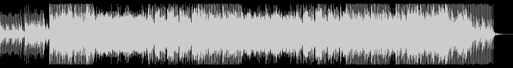 SHINOBIの未再生の波形