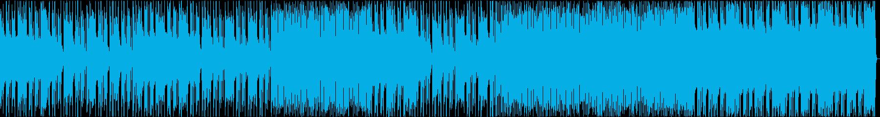 極上のファンキーでロッキンな曲で踊ろうの再生済みの波形