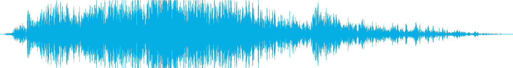 衝撃 噴火12の再生済みの波形