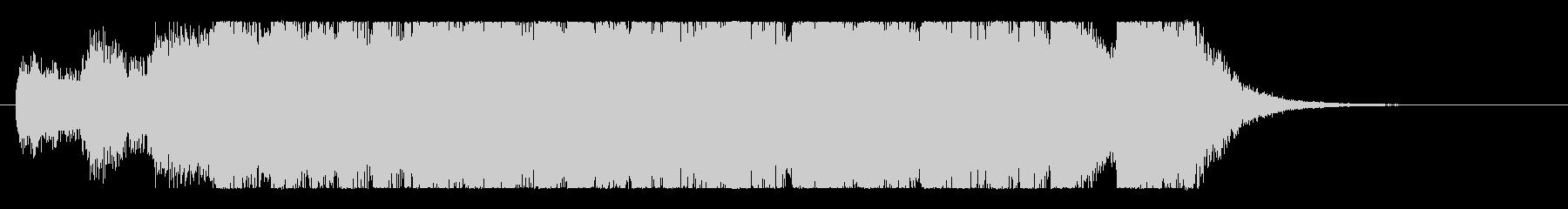 ハロウィンオーケストラ♪壮大コミカルロゴの未再生の波形