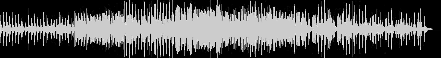 ピアニストが弾く「パッヘルベルのカノン」の未再生の波形
