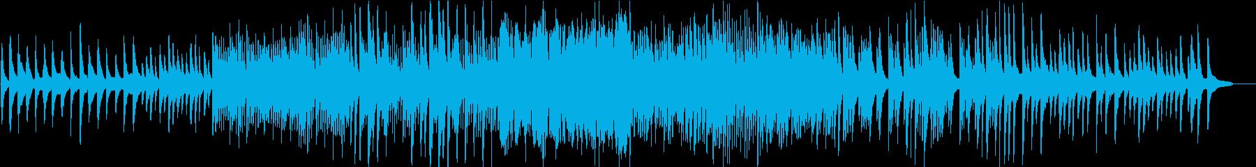 ピアニストが弾く「パッヘルベルのカノン」の再生済みの波形