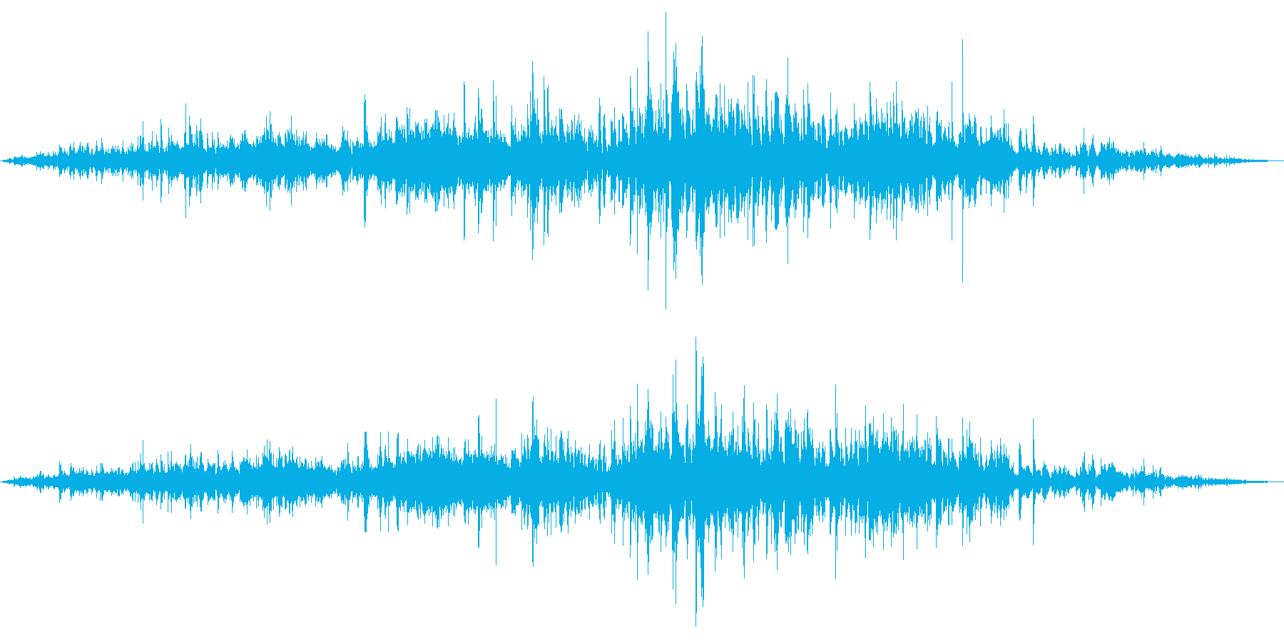 バラバラバラ (突然に降り出す雨)の再生済みの波形