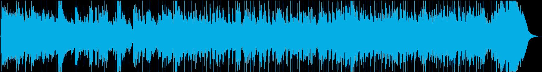 アコースティックギターのアルペジオ中心にの再生済みの波形