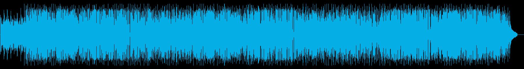 シンセとスキャットの軽快なスムースジャズの再生済みの波形