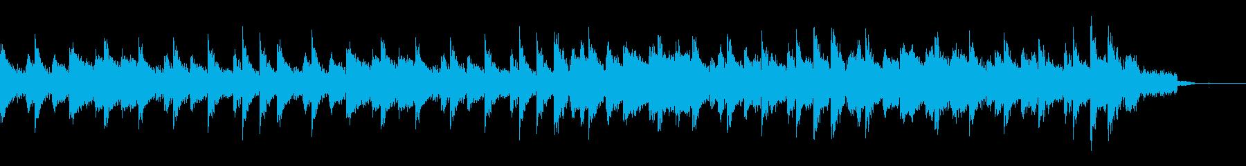 アコギとEDM調ボイスジングルの再生済みの波形