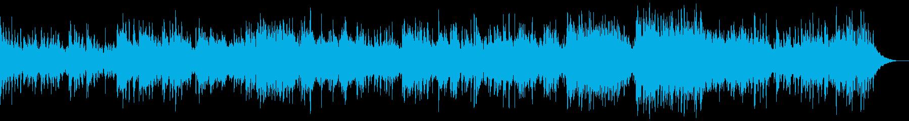 4分ソング 沖縄 ゆったり 生P 生Flの再生済みの波形