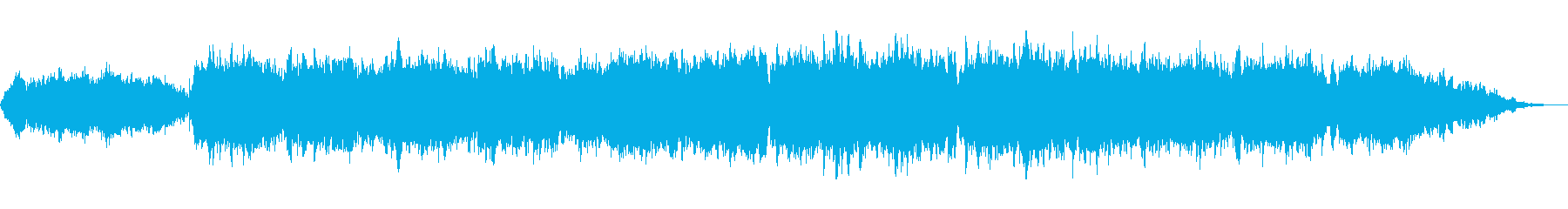 ストリングスとピアノのサウンドトラックの再生済みの波形