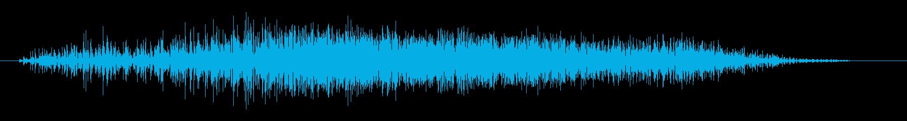 短繊維断裂;ヴィンテージ録音;布地...の再生済みの波形