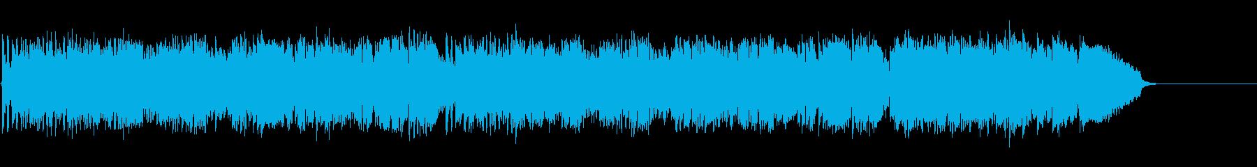 高貴なイメージの木管四重奏クラシックの再生済みの波形