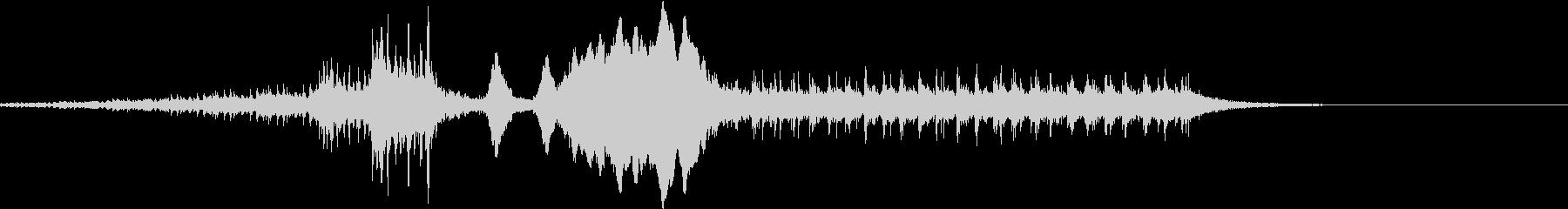 結果発表5/ドラムロール→発表→拍手の未再生の波形