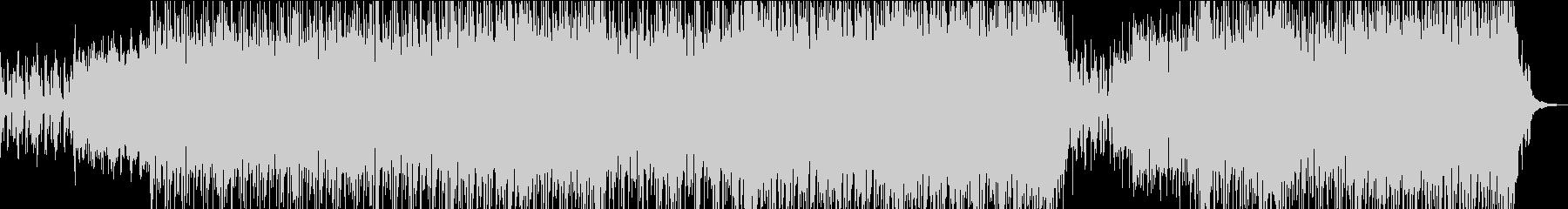 エッジの効いたエレクトロロックの未再生の波形