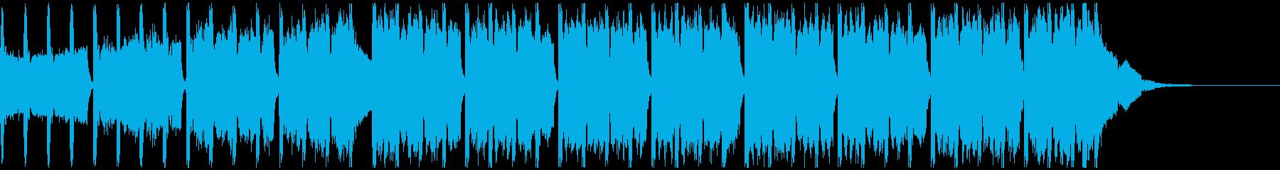 レーシング(30秒)の再生済みの波形