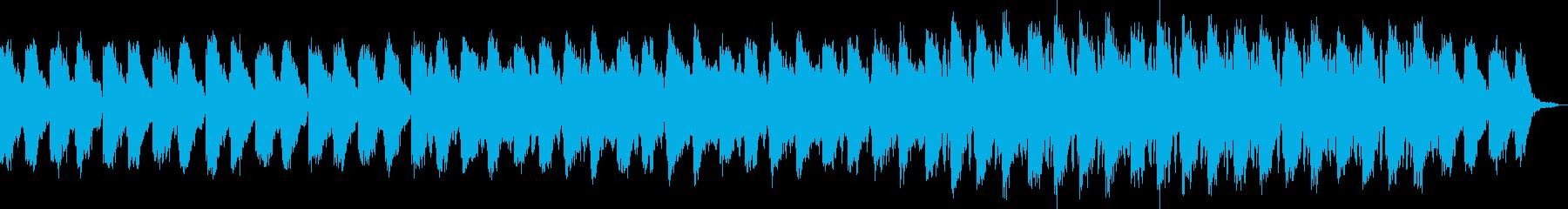 眠りを促す穏やかなエレクトロニカの再生済みの波形