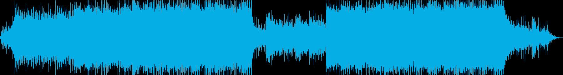 ポップ テクノ R&B アンビエン...の再生済みの波形