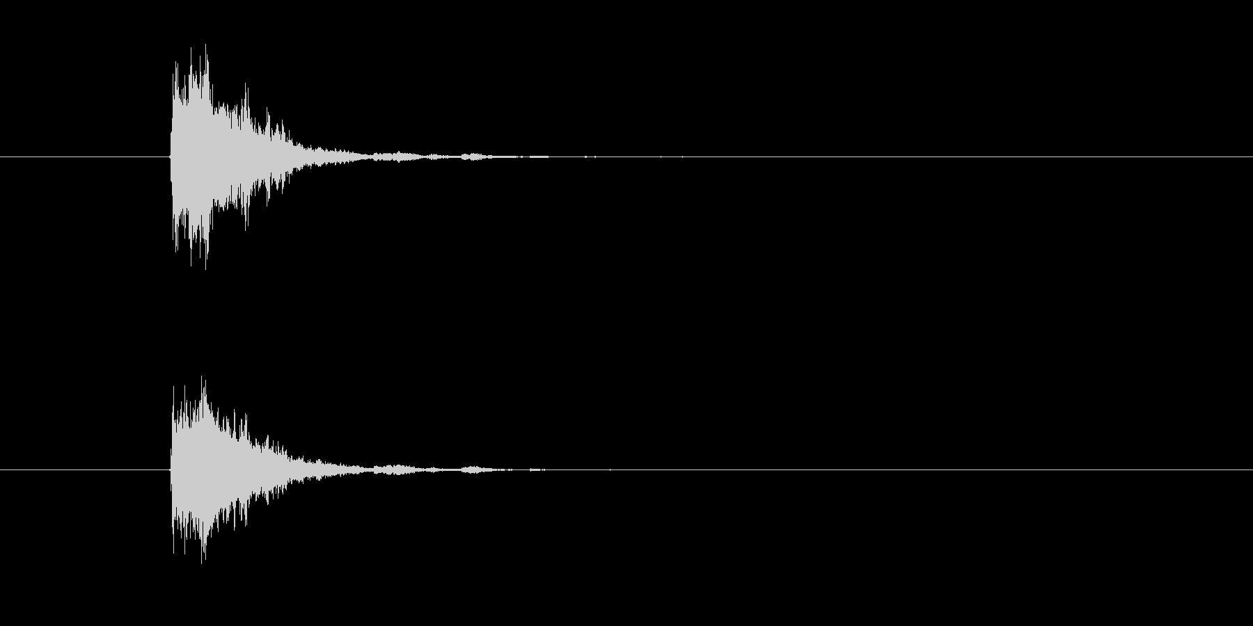 シンバル 鈴 (すちゃーん)の未再生の波形