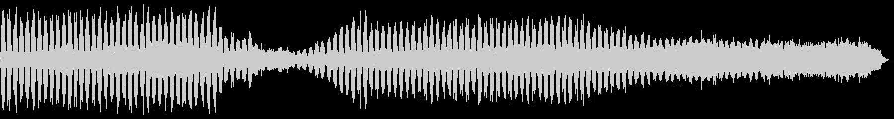 神秘的で静謐とした雰囲気のある楽曲ですの未再生の波形